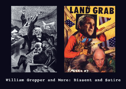 William Gropper and More: Dissent and Satire